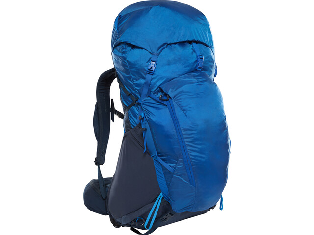 5e1008317 The North Face Banchee 50 Backpack urban navy/bright cobalt blue